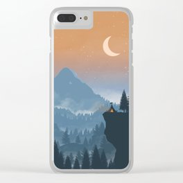 Camping spot Clear iPhone Case