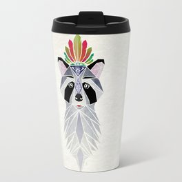 raccoon spirit Travel Mug