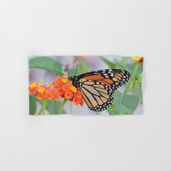 The Monarch Has An Angle Hand & Bath Towel