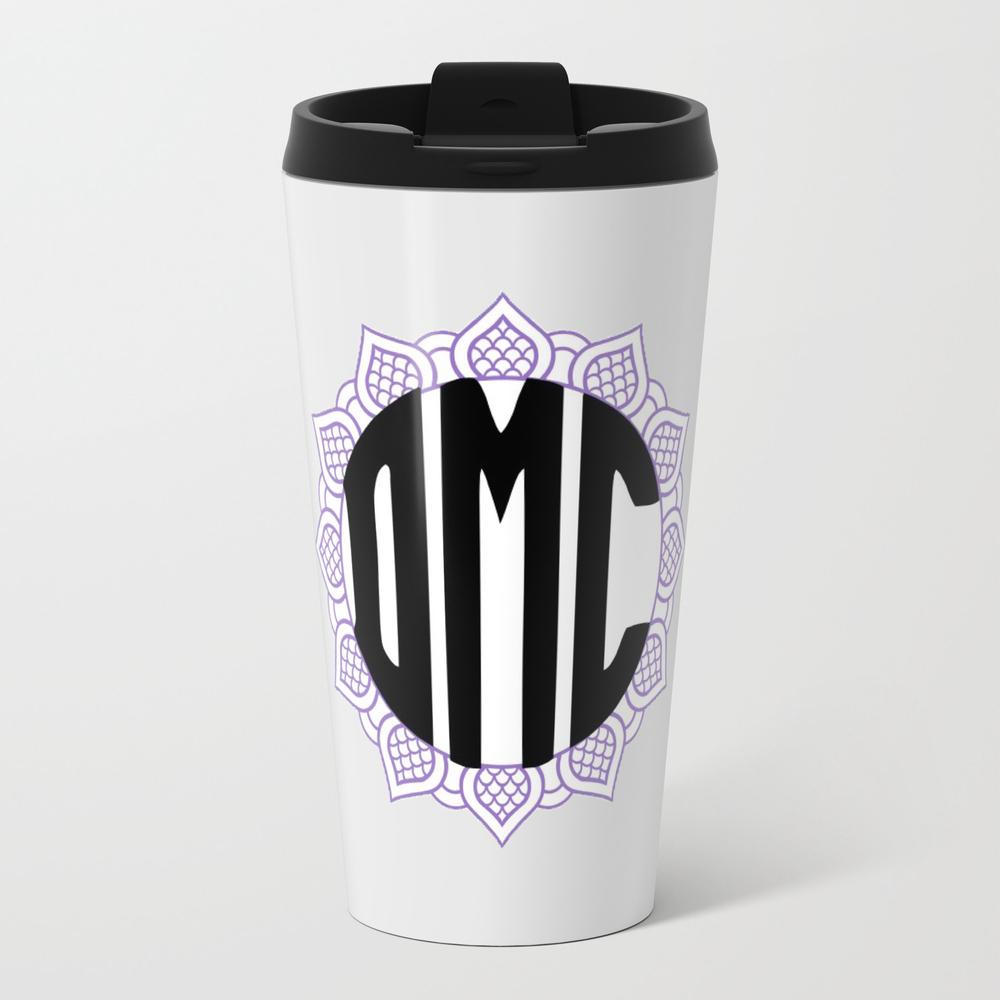 Personalized Monogram (read Disc.) Metal Travel Mug by Mcannon1998 MTM8544427