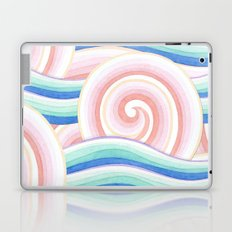 Pastel Auspicious Waves Laptop & iPad Skin