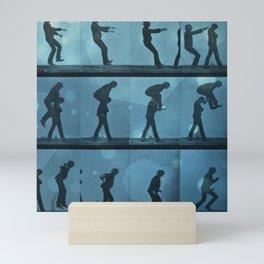 movement jump Mini Art Print