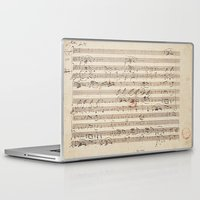 mozart Laptop & iPad Skins featuring Mozart by Le petit Archiviste