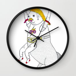 On the unusually popular full man half centaur Intercontinental champ. Wall Clock