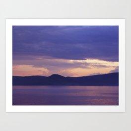 Lake 3 Art Print
