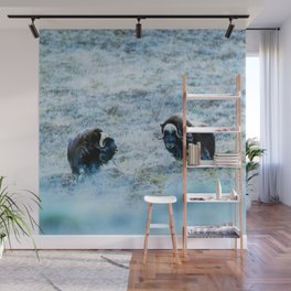 The North | Musk Oxen Wall Mural