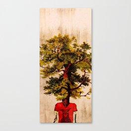 The Tree-man Canvas Print