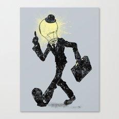 The Idea Man Canvas Print