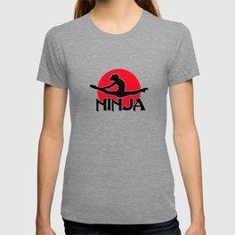 Gymnastics Leotard Ninja Funny Cute Shirt T-shirt