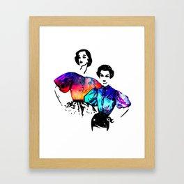 Starlites Framed Art Print