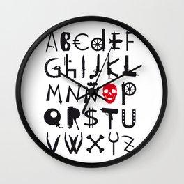 TipoWar Wall Clock