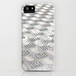 Floor metal surface iPhone Case