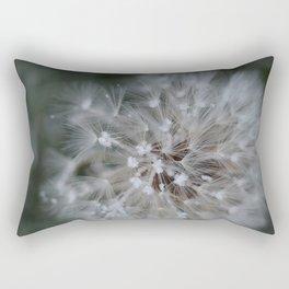 Tiny Frozen Flowers Rectangular Pillow