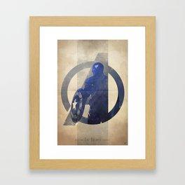 Avengers Assembled: The Soldier Framed Art Print