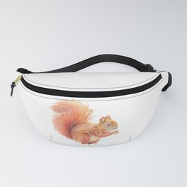 Red Squirrel Fanny Pack