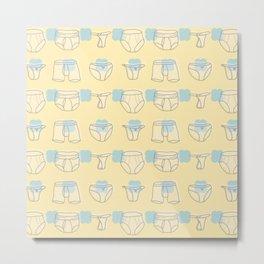 Underwear Metal Print