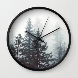 Deep in the Wild - Nature Photography Wall Clock
