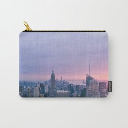 New York Sunset, I love NYC (Manhattan, Brooklyn, Queens) Carry-All Pouch