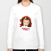 spice girls Long Sleeve T-shirts featuring Spice World - Geri Ginger Spice by Binge Designs Homeware