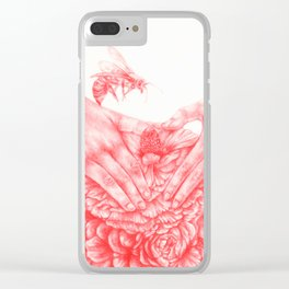 Damsels in Distress 3 Clear iPhone Case