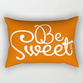 Be Sweet Shit Bag Rectangular Pillow
