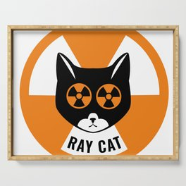 Ray Cat Serving Tray