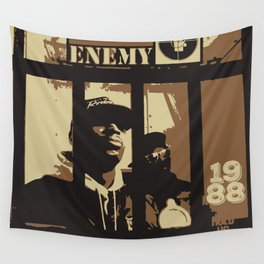 Public Enemy: 1988 Wall Tapestry