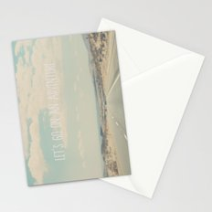 lets go on an adventure ... Stationery Cards