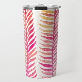Pink Ombré Seaweed Travel Mug