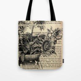 Pride & Prejudice, Chapter XLIII: Sunflowers Tote Bag