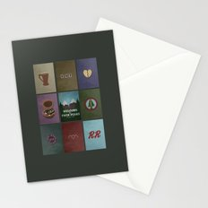 Twin Peaks colors Stationery Cards