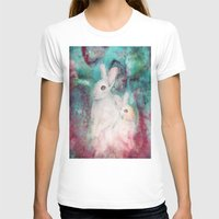 rabbits T-shirts featuring rabbits by Curtis Reynolds