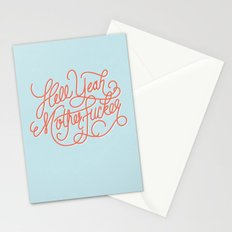 Hell Yeah Mother Fucker Stationery Cards