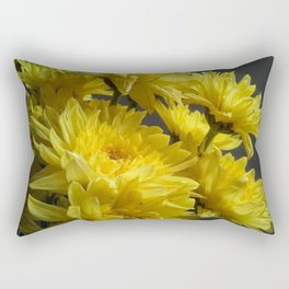 Dressed Up In Yellow Rectangular Pillow