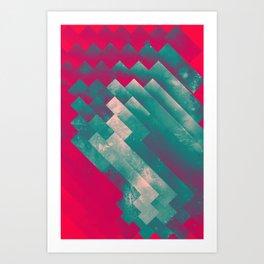 frysyn pyssxyn Art Print