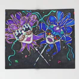 The Jesters Throw Blanket
