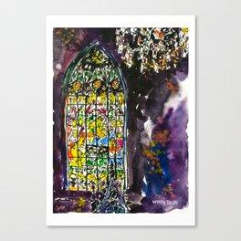 20140411 San Sebastian Window Canvas Print