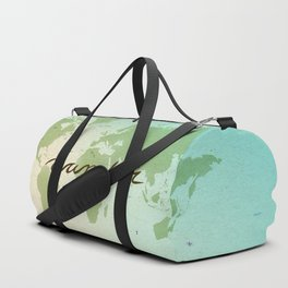 Wander the World Duffle Bag