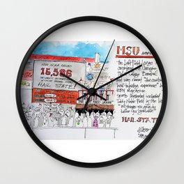 MSU Left Field Lounge Wall Clock