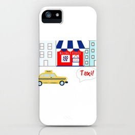 Taxi! - for arp - iPhone Case