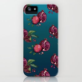 Pomegranate Parade iPhone Case