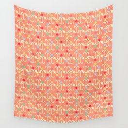 Lattice Pattern (Pastel) Wall Tapestry