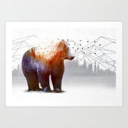 A Wilderness Within / Bear Art Print