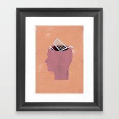 shoppinghead... Framed Art Print