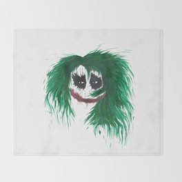 The Joker. Why so serious? Throw Blanket