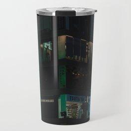 Tokyo feels : Shinjuku blue 4 Travel Mug