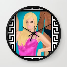 american cruz story Wall Clock