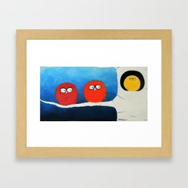 I want to take you home. Framed Art Print