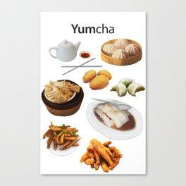 Yumcha Canvas Print