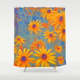 Beautiful Wild Summer Shower Curtain